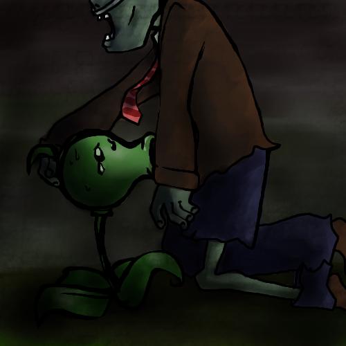 de dibujo zombies plantas vs Cum in uterus