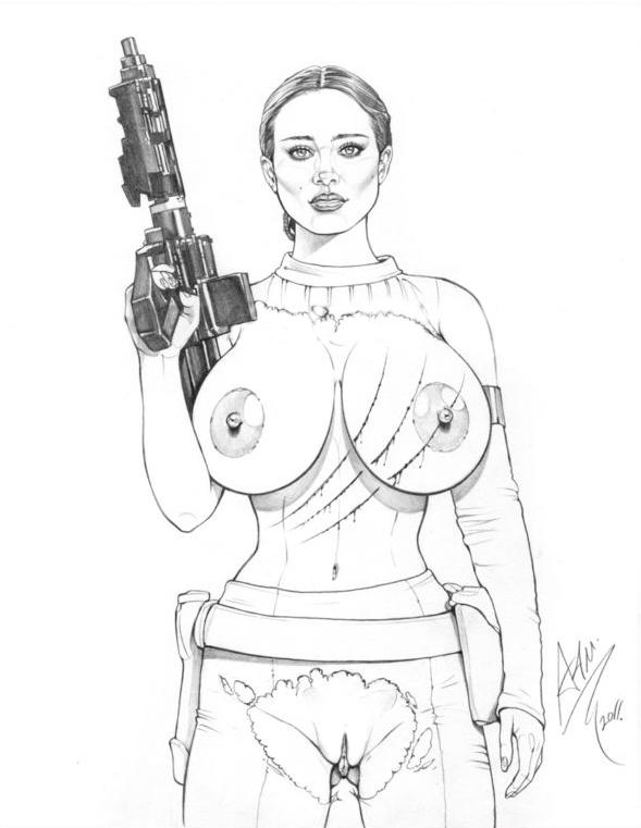 wars nipples natalie portman star Mahou_shoujo_(raita)