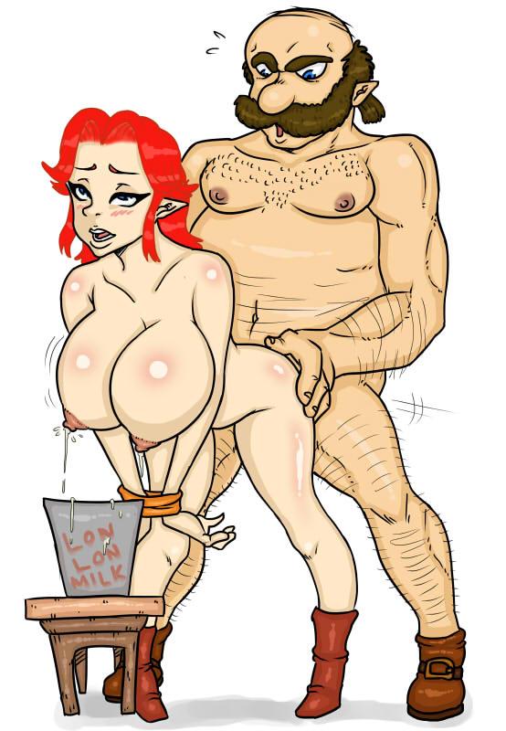 zelda of cartoon link legend Tim and moby