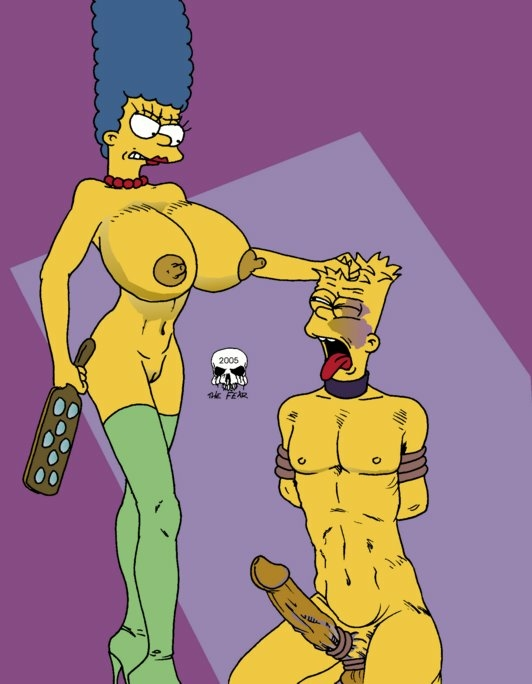 marge and bart fear the imagefap Big the cat and blaze the cat