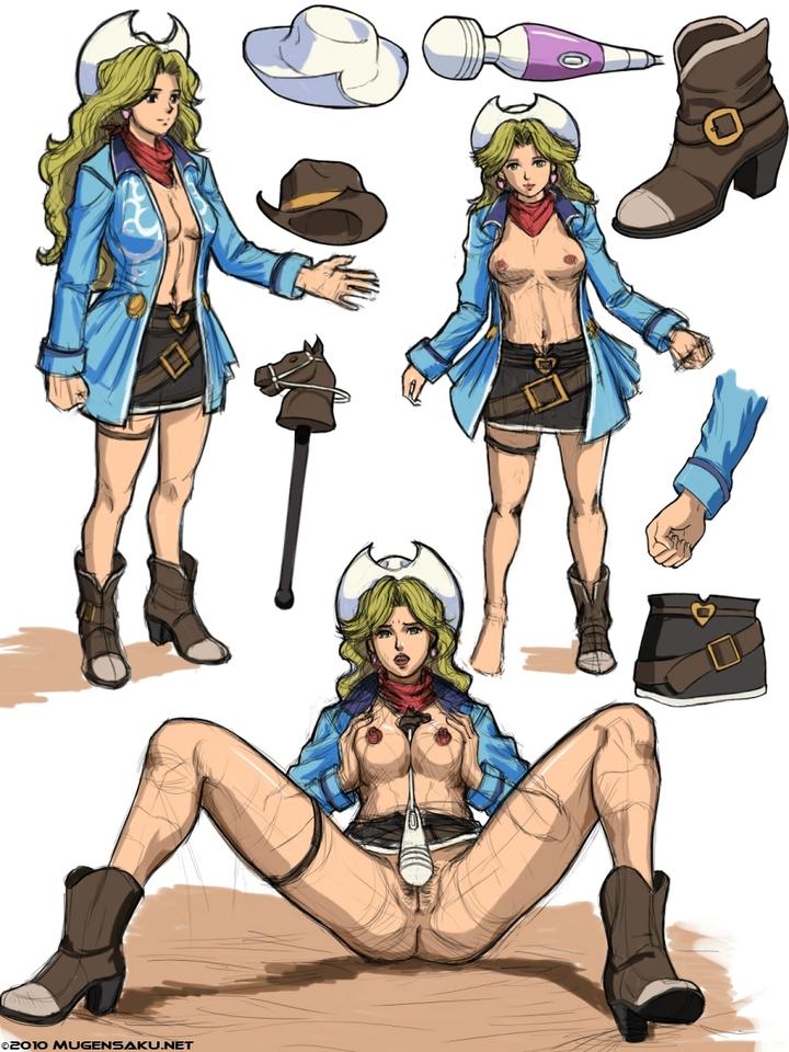 mesa cowboys moo of Dragon ball super e hentai