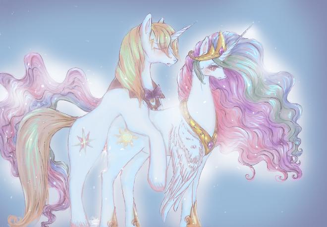 my little pony amore princess Yawaraka sangokushi tsukisase!! ryofuko-chan