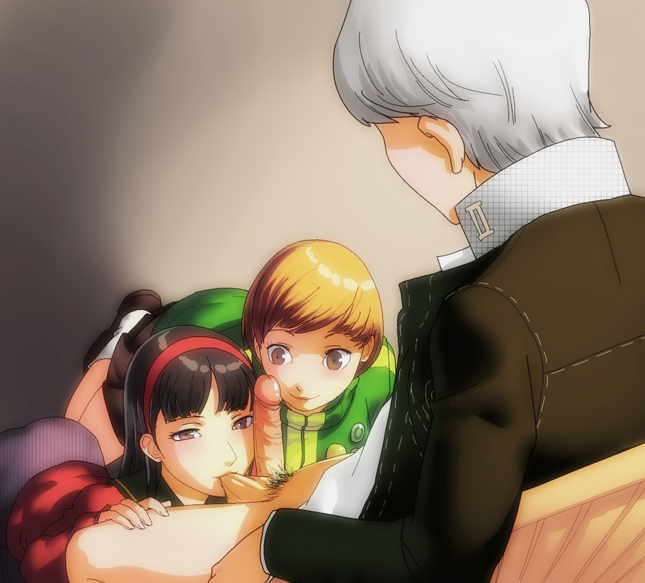 4 yukiko x persona chie Ian coming out on top