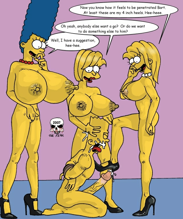 imagefap marge and bart the fear The little mermaid ariel nude