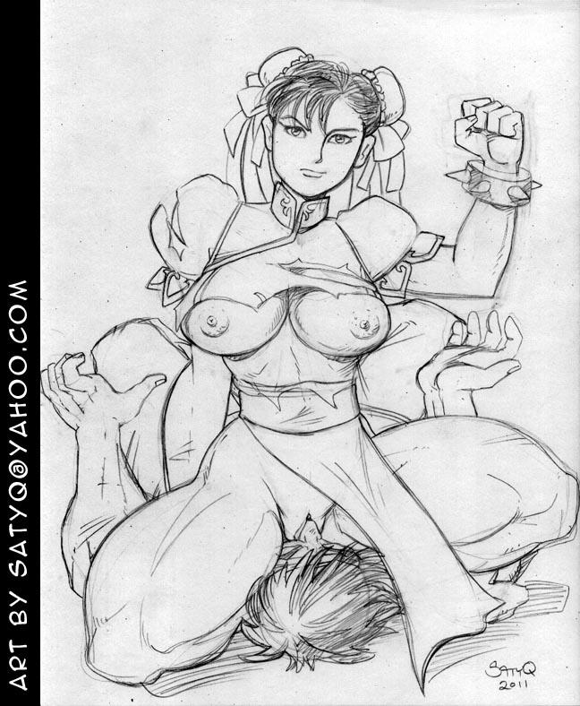 chun li street fighter nude Tera breath of the wild