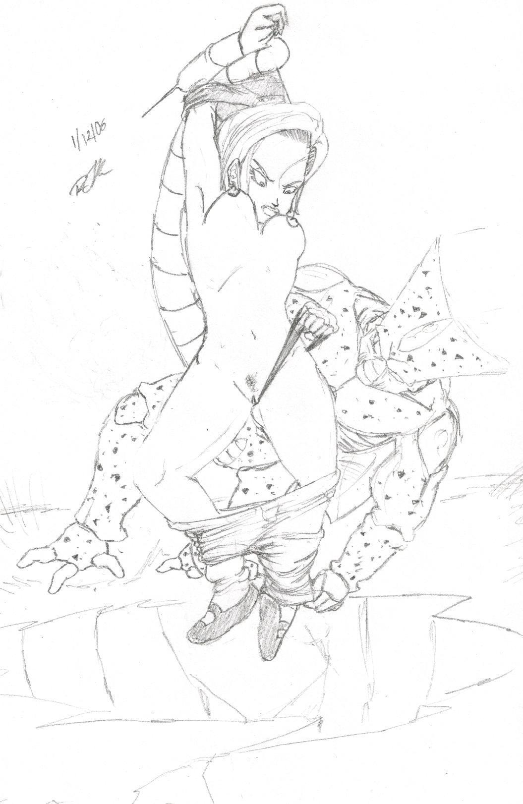 and krillin dragon 18 z ball Eroge! ~h mo game mo kaihatsu zanmai~