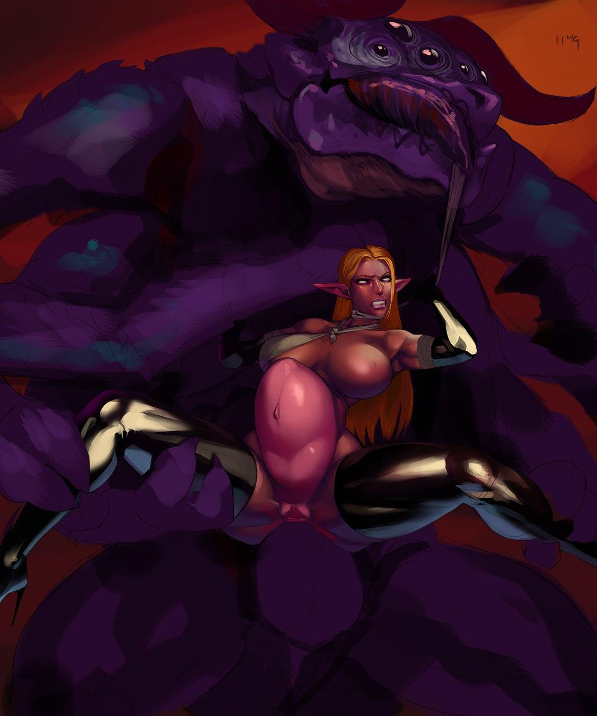 demon webtoon mage and queen Aloy horizon zero dawn nude