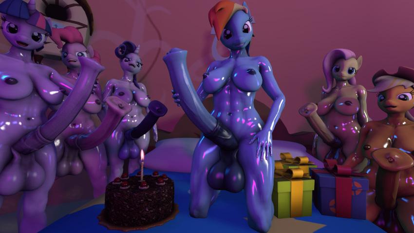 little cake pound my pony Ochiru hitozuma ~animation~