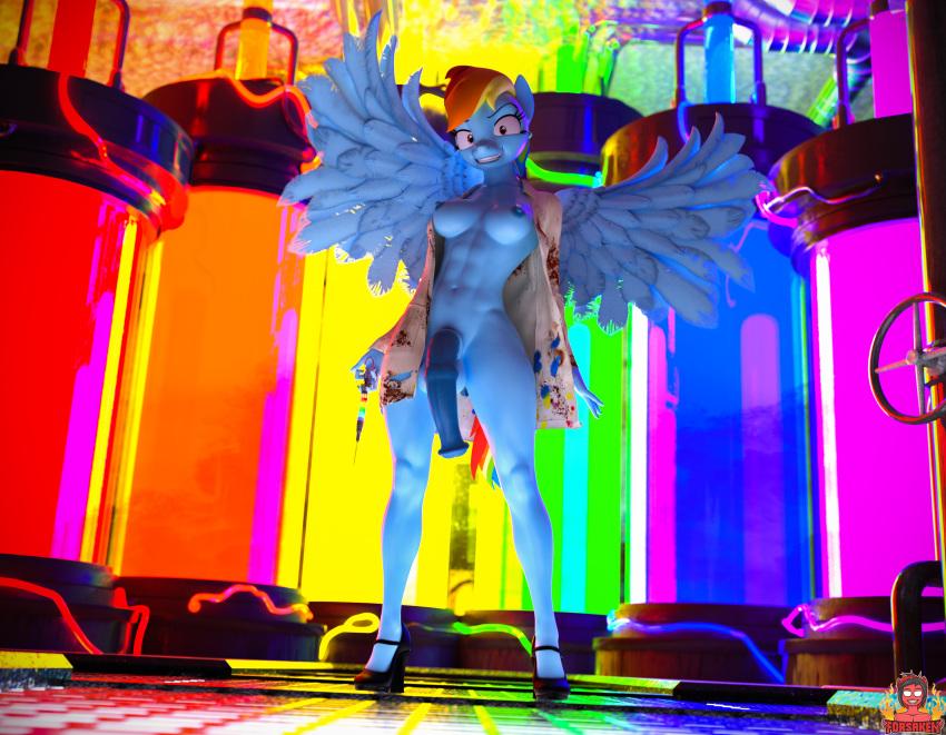 rainbow mlp fan art dash Ariana grande cum on face