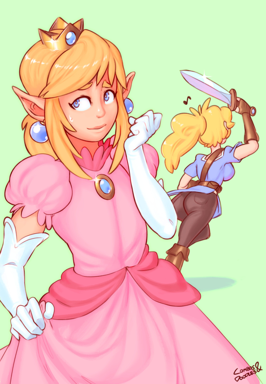 princess and peach daisy naked Fela pure: mitarashi-san chi no jijou - the animation
