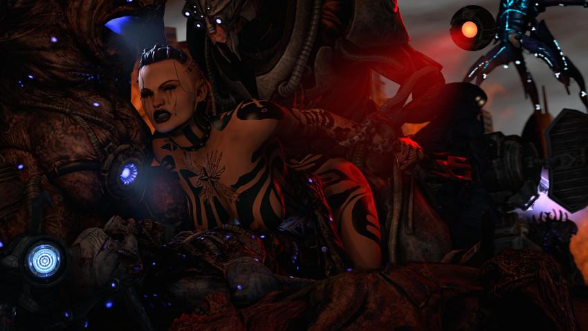 3 effect mass Monster hunter nargacuga armor female
