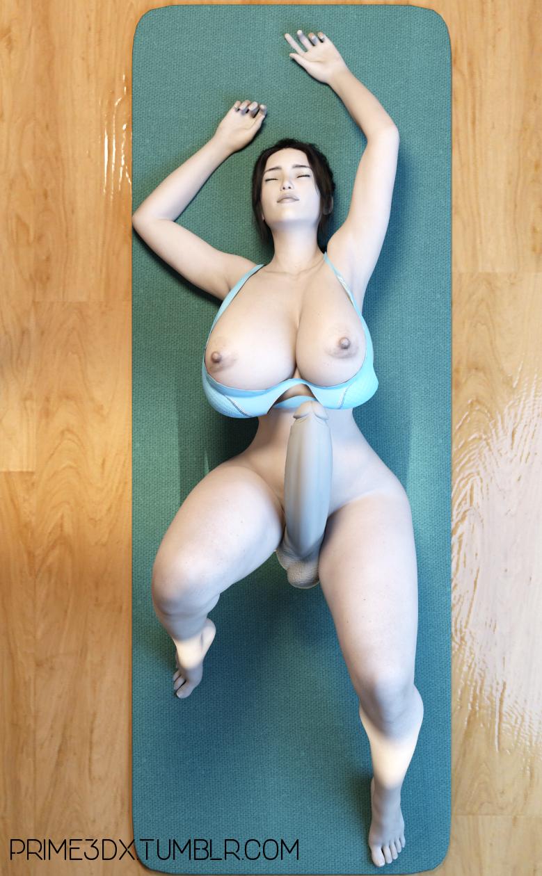 wii futa fit trainer porn Hulk and she hulk sex