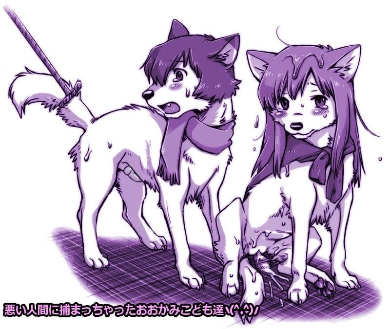 big wolf pleasent goat and big Kagachi-sama onagusame tatematsurimasu: netorare mura inya hanashi the animation