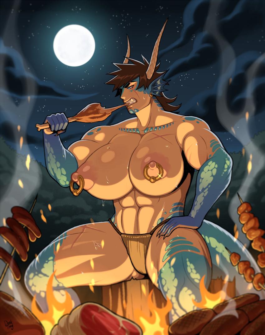 girl sharp with comic teeth the Zelda breath of the wild nude mod